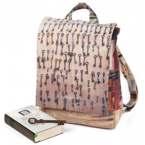 Backpack Petits soldats et clefs