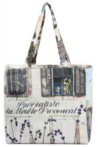 Reversible-Bag-A-taste-of-Provence-Maron-Bouillie-White-1