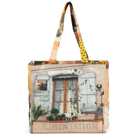 Reversible-Bag-A-taste-of-Provence-Maron-Bouillie-Yellow-1