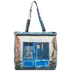 Reversible-Bag-A-taste-of-Provence-Maron-Bouillie-Blue-1