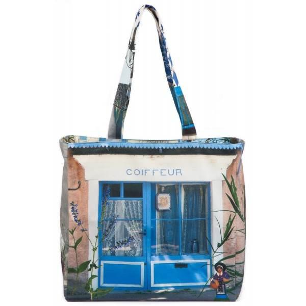 Reversible bag Bleu