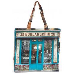 Cabas Paris rétro Boulangerie 28