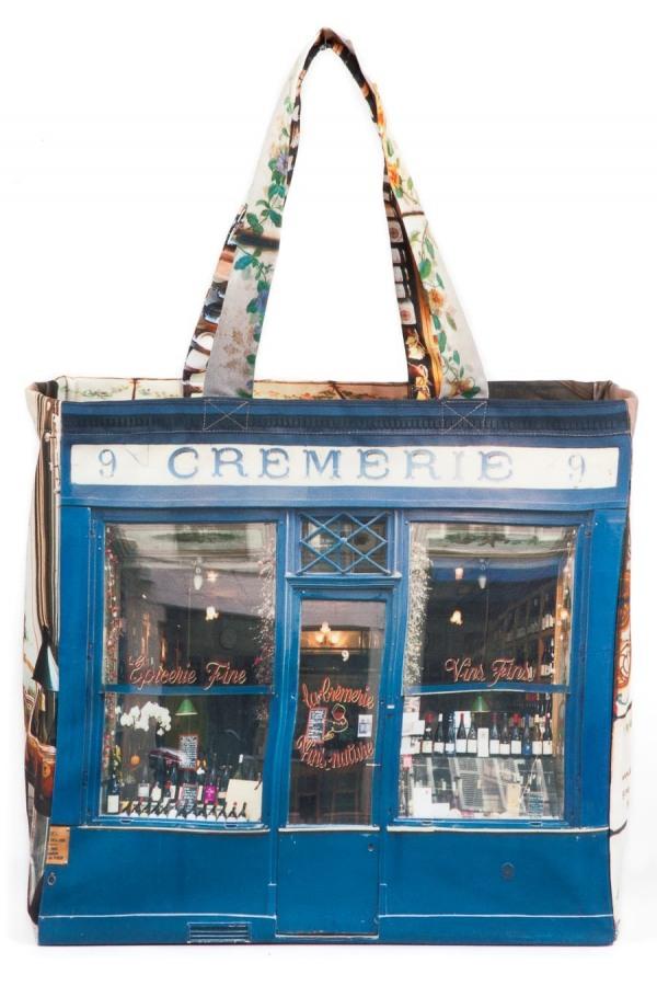 Bag cr merie paris r tro style maron bouillie for Retro shop paris
