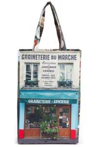 Bag graineterie du march paris r tro style maron bouillie for Retro shop paris