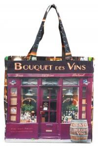 Bag-Paris-retro-style-Maron-Bouillie-Bouquet-des-vins-Wine-shop-1