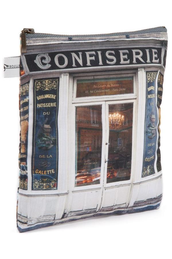 Pouch confiserie boulangerie paris r tro style maron for Retro shop paris