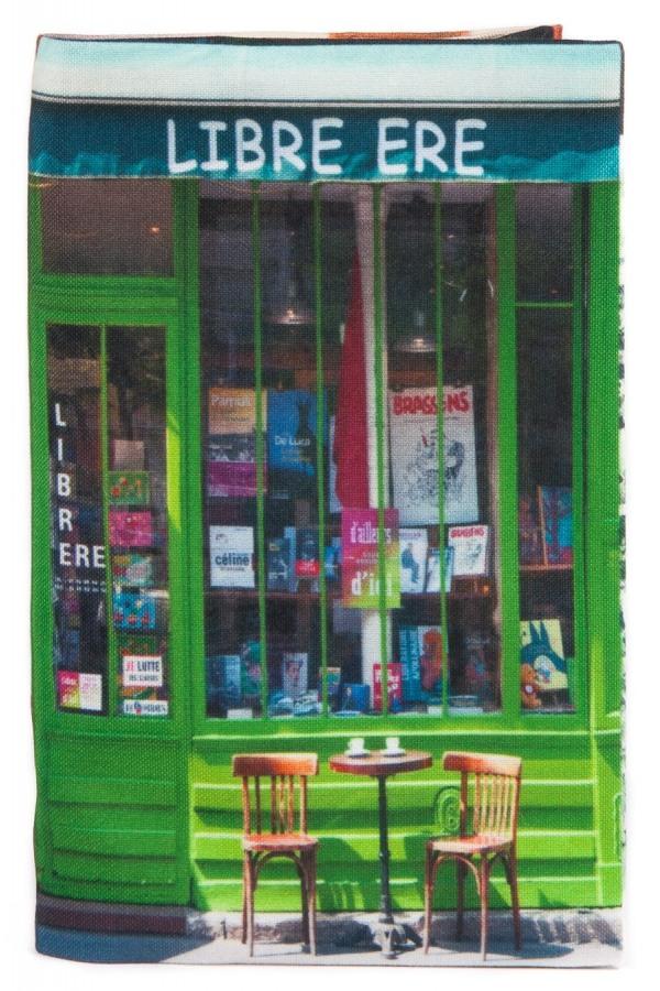 Book cover libre re paris r tro style maron bouillie for Retro shop paris