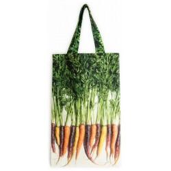 Sac à carottes multicolores face - Maron Bouillie Un petit tour au marché - sacs à courses