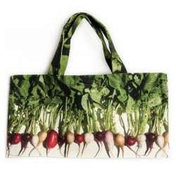 Sac à radis multicolores face - Maron Bouilie Un petit tour au marché Sac à courses