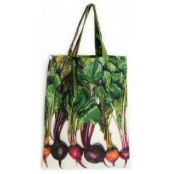 Multicolored beetroots bag with vegetables Maron Bouillie Strolling around the market Vegetable bags