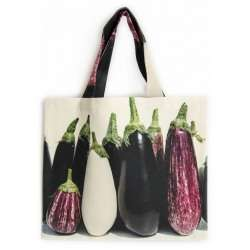 Vegetable-bag-Strolling-around-the-market-Maron-Bouillie-Eggplants bag with vegetables