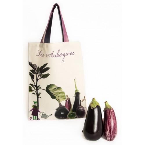 Sac Les Aubergines - Légumes - cuisine - Maron Bouillie Paris