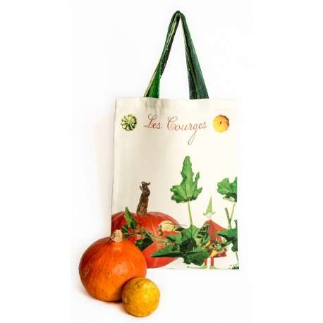 Tote Bag Les Courges - Vegetables - kitchen - Maron Bouillie Paris