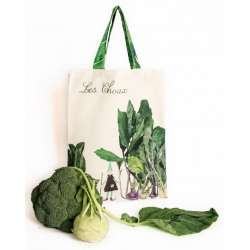 Tote Bag Cabbages - Vegetables kitchen - Maron Bouillie Paris