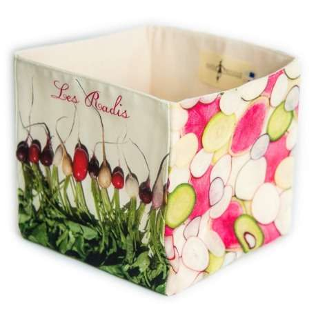 Radish box - Vegetables Kitchen- Maron Bouillie - Paris