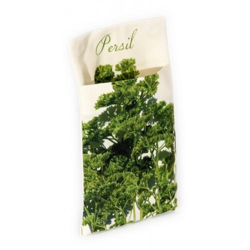 Wall pouch Parsley - Vegetables Kitchen- Maron Bouillie - Paris