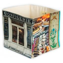 Confiserie Boulangerie home storage box - Paris retro style - Maron Bouillie