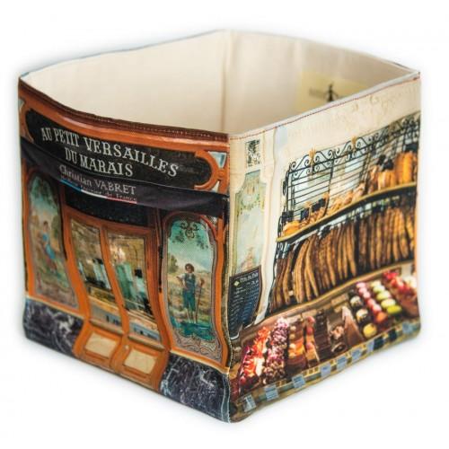 Boite Boulangerie Au petit Versailles du marais - Paris retro - Maron Bouillie