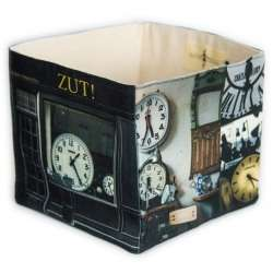 Zut! home storage box - Paris retro style - Maron Bouillie