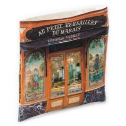Bakery Au petit Versailles du marais Wall catch-all - Paris retro-style - Maron Bouillie