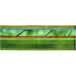 Tête à tête à rayures horizontales multicolores