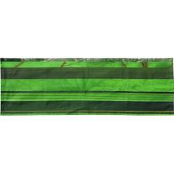 Tête à tête à rayures horizontales vertes