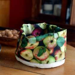 Basket Apples full - Vegetables kitchen - Maron Bouillie Paris