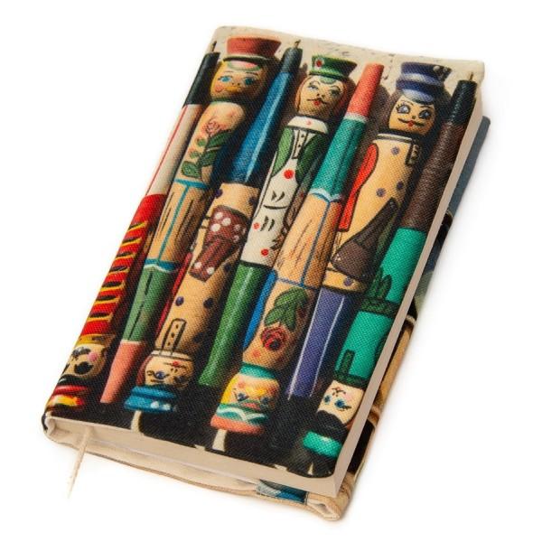 Couverture de livre originale Bonhommes et bobines