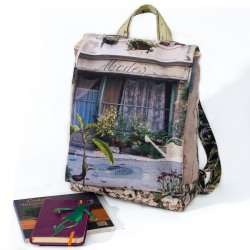 Backpack Provence Purple & green