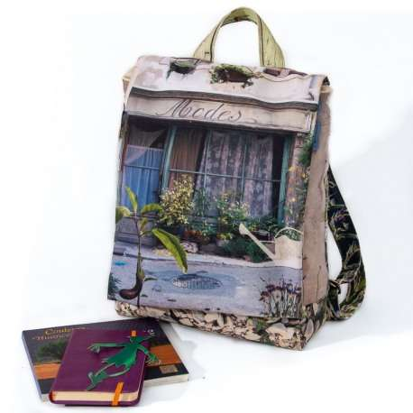 Backpack Provence purple green