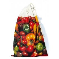 Sac à vrac réutilisable Tomates pour courses ou rangement cuisine