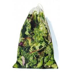 Sac à vrac réutilisable Salades pour courses ou rangement cuisine