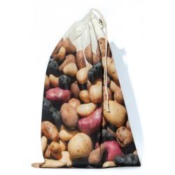 Sac à vrac réutilisable Pommes de terre pour courses ou rangement cuisine