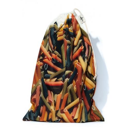 Sac à vrac réutilisable Pâtes Pennes pour courses ou rangement cuisine
