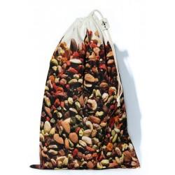Sac à vrac réutilisable Fruits secs pour courses ou rangement cuisine