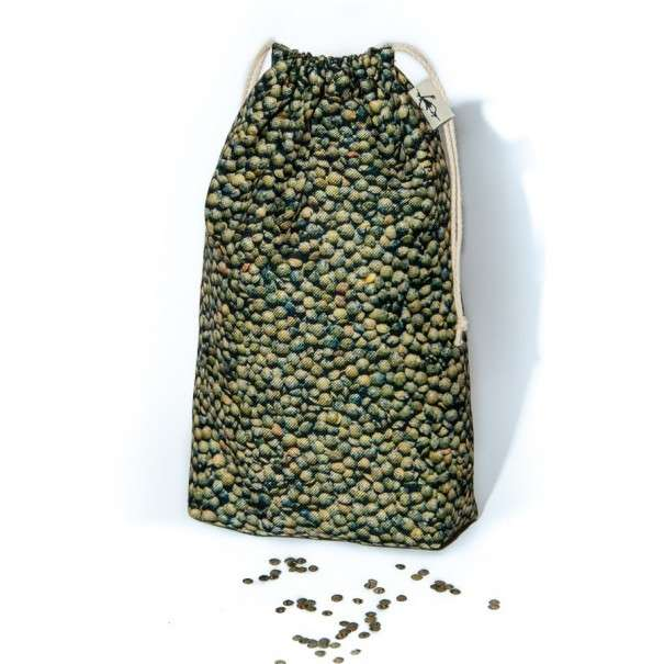 Green lentils Storage bag