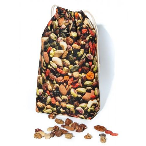 Sachet de rangement Fruits secs pour la cuisine écologique