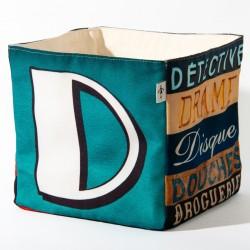 Boite de rangement lettre D