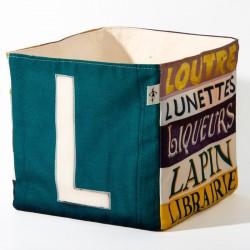 Boites de rangement lettre L