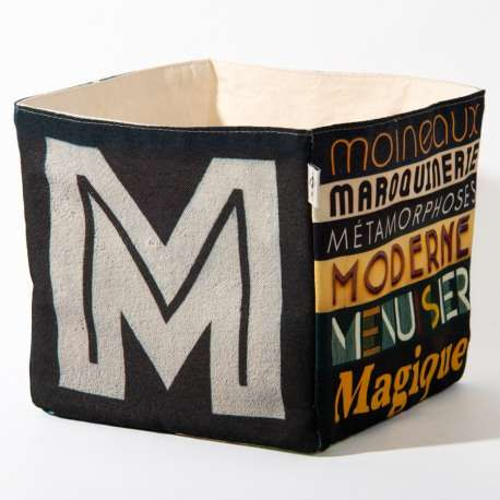 Alphabet fabric Box letter L