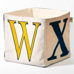 Alphabet fabric Box letter WXYZ