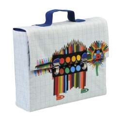 Cartable La Bricole Multicolore