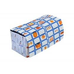 Boite La Bricole Orange et bleu