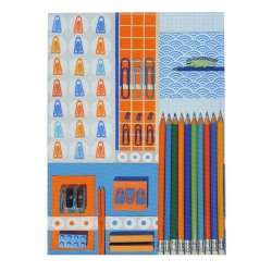 Notepad Cover La Bricole Orange et blue