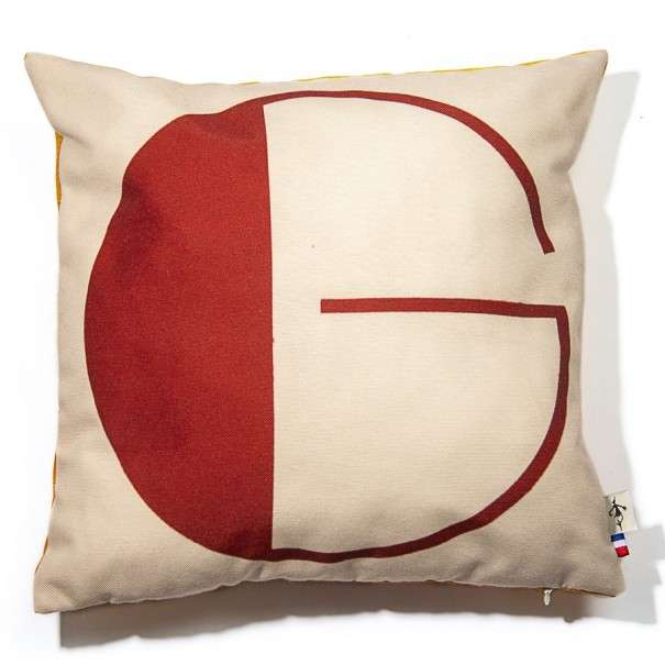 Alphabet cushion cover letter G