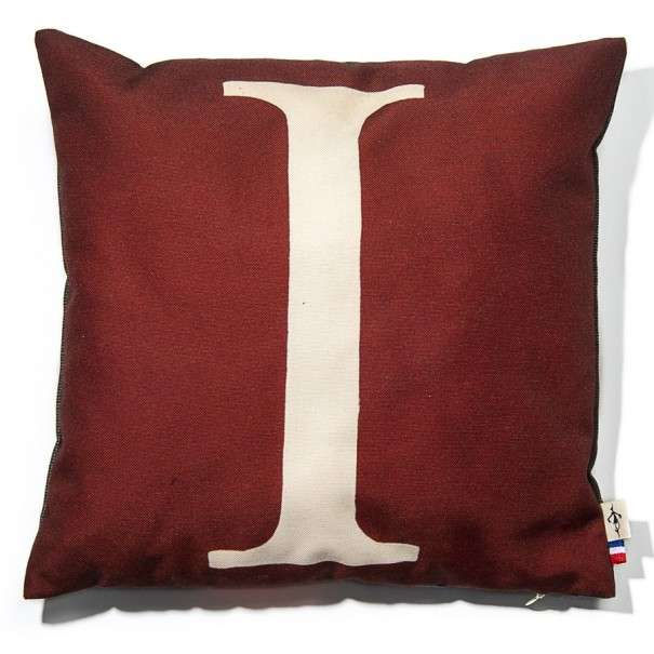 Alphabet cushion cover letter I