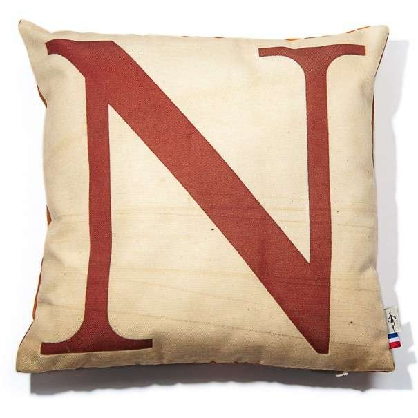 Alphabet cushion cover letter N