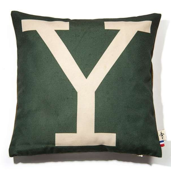 Alphabet cushion cover letter Y