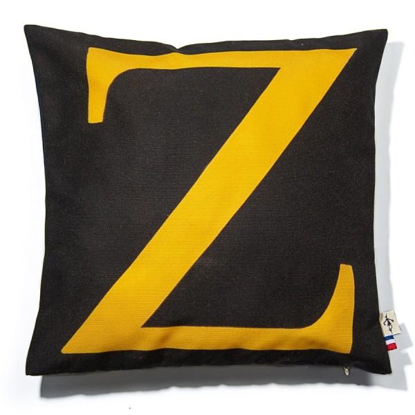 Alphabet cushion cover letter Z