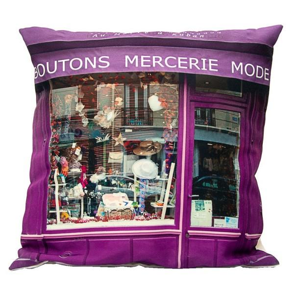 Cushion cover Mercerie Au mètre à ruban
